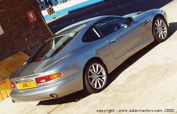photographs copyright Tim Cottingham - www.astonmartins.com
