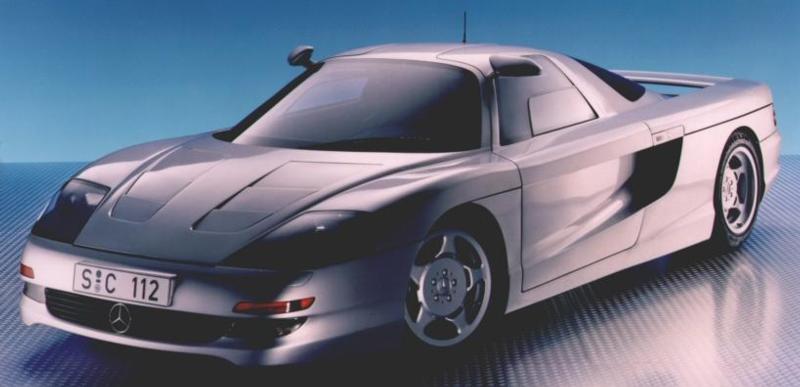 Mercedes C112 Concept